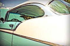 Blue Chevrolet BelAir Classic Car.    Fine Art Photograph.   via Etsy. http://www.etsy.com/listing/70991674/blue-chevrolet-belair-classic-car-fine?#