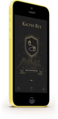 iOS mobile App: Kacepr Ryx