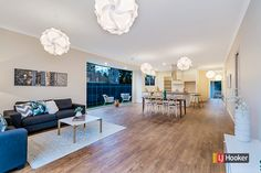 Stylish & spacious in this St Peters home #forsale #ljhookerkensington #auction #stpeters #adelaide #style #space #floorboards #livingarea