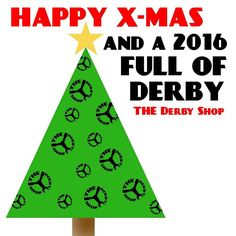 HAPPY X-MAS YOU ALL!!! and may 2016 be full of derby again  #xmas #thederbyshop #rollerskates #quad #rollerderby #holiday #2016  As you might expect the next couple of days we are taking it a little slow.. We will get back to you as soon as possible!  by thederbyshop_amsterdam