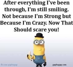 23 Hilarious Minions to Save and Share She never stops worrying! In their weird little way. I'm resilient though. They're too much. So there! Don't expect much. It's a heck of a situation. Especially country music! Hmm, yep, there it is, in the ice cream tub! Thanks mirrors! Let's just sit and watch TV. Haha..oh.. …