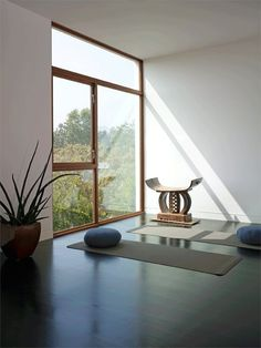 "Feeling Feng Shui : ""Om"" Worthy Yoga & Meditation Spaces  - nousDECOR."