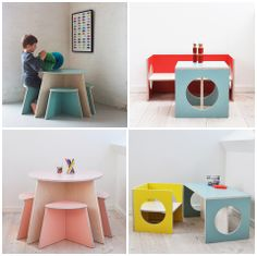 Playful and functional children's furniture from Small Design.