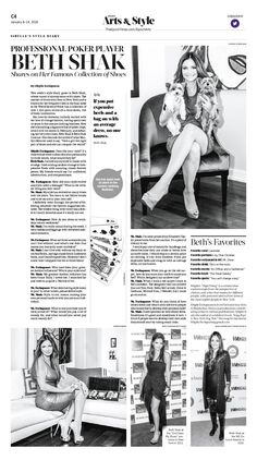 Sibylle's Style Diary: Professional Poker Player Beth Shak Shares on Her Famous Collection of Shoes|Epoch Times #Style #NewYork #newspaper #editorialdesign