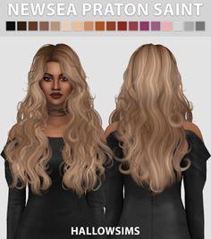 My Sims 4 Blog: Patron Saint Hair by HallowSims