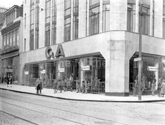 C&A before they covered the deco features with brown glass! Now Dunnes store- glass taken away thankfully!