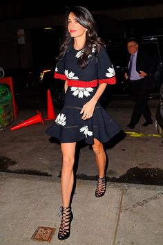 In Alexander McQueen at Caravaggio Restaurant (28/04/2015)