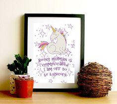 Animals and rainbow magic by Nadine Anna Waterman on Etsy