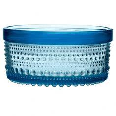 Iittala's Kastehelmi jar 116 x 57 mm, light blue