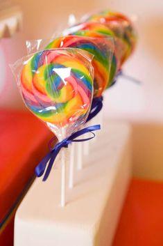 rainbows, unicorns, 80's Birthday Party Ideas | Photo 1 of 48 | Catch My Party