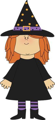 Cute Witch Clip Art - Cute Witch Image