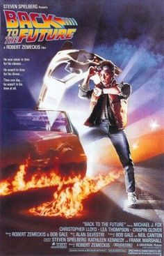 Back to the Future (1985) movie #poster, #tshirt, #mousepad, #movieposters2