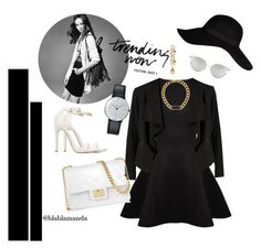 """FASHION BLACK"" by blablamanda on Polyvore featuring Forever 21, Ted Baker, OPUS Fashion, Design Inverso, River Island, Klein & more, Ben-Amun, Marc by Marc Jacobs and Chicnova Fashion"