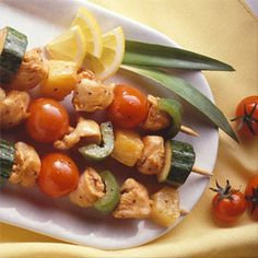 Teriyaki Chicken Kabobs | Land O'Lakes- Learn about ADVOCARE here: https://www.advocare.com/130818349/Store/ItemDetail.aspx?itemCode=99050=A=b