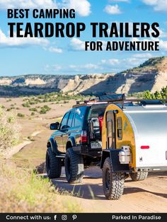 What to look for in a teardrop camper. Pros, cons and features of a small, lightweight travel trailer. Examples of the coolest teardrop trailers for sale. Off Road Camping, Camping Tips, Camping Outdoors, Teardrop Trailer For Sale, Teardrop Campers, Rv Campers, Cheap Trailers, Trailers For Sale, Vintage Airstream