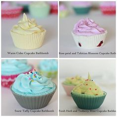 My Cupcake Bathbomb Bath Bombs, Make Me Smile, Cupcake, Desserts, How To Make, Food, Meal, Deserts, Essen