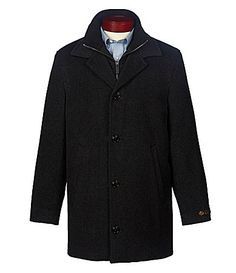 5aef7a9766cf Cremieux Layered WoolBlend Coat  Dillards