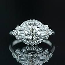 "Yes please....art deco engagement ring ""gatsby"" style"