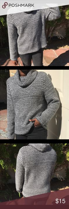 it's way too hot in Florida to wear this A cute sweater I picked up but I've never worn and would like to just make space in my closet. Will ship next day. It says it's an extra large but I'm a small/medium and it has a little oversized look on me. BTW Stay wonderful 💕 Christopher & Banks Sweaters Cowl & Turtlenecks