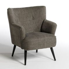 Fauteuil à accoudoirs Jack, tweed