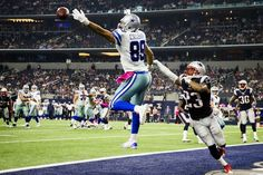 Dallas Cowboys tight end Gavin Escobar (89) has a pass go off his hands in the end zone as New England Patriots strong safety Patrick Chung (23) defends late in the fourth quarter of an NFL football game at AT&T Stadium on Sunday, Oct. 11, 2015, in Arlington. (Smiley N. Pool/The Dallas Morning News)