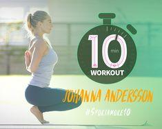 10 Min Workout, Yoga Poses, Balance, Sports, Bra, Projects, Hs Sports, Log Projects, 10 Minute Workout
