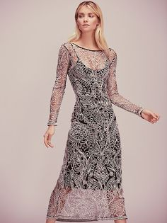 Elyse Taylor || FP Rest For The Wicked Dress (Black Combo)