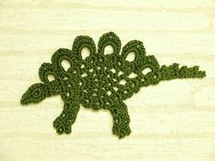 Ravelry: Stegosaurus motif pattern by Chinami Horiba  FREE  This is so amazing. I can't crochet so I can only look on longingly...