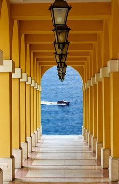 Lanterns to the Sea, Liguria, Italy