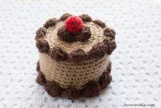 Die 41 Besten Bilder Von Häkeldonuts Muffins Etc Amigurumi