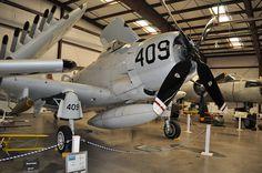 Douglas A-1 Skyraider #plane #1960s