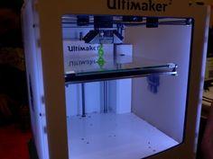 Ultimaker prints @ Maker Faire 2014, Centre For Life, Newcastle #makerfaireuk ultimaker.com