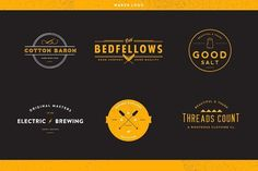 50% Off Maker Logos Volume 1 by The Midwest on @creativemarket