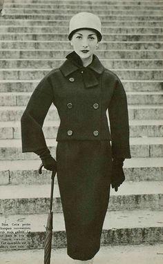 1956 Christian Dior www.vintageclothin.com