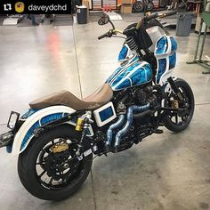 @Regranned from @krausmoto - Don't believe the hype! The Dyna is far from dead. In fact we are sure many of the best builds are yet to be done. Check this one from @calgaryharleydavidson It's of course running full Kraus setups. #dynamoto #isolatedrisers #brakebracket @beringerbrakes #marchesiniwheels @ohlinsusa @lyndallbrakes