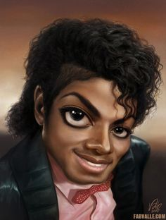 Michael Jackson caricature - The Billie Jean times by Fabvalle on ...