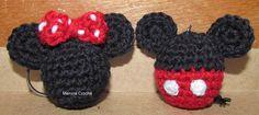 Chaveiros... Minnie e Mickey
