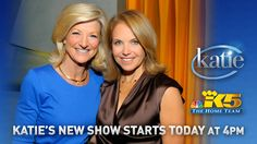 So excited to welcome Katie Couric to KING 5! Weekdays at 4pm.
