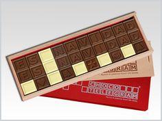 ¡Toda la Dulzura de la Navidad en Chocolate! Personaliza tu mensajes para esta Navidad. Nuestras sugerencias:http://www.mysweets4u.com/es/?o=2,5,29,0,0,0