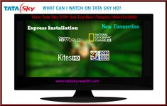 Confused about to buy DTH, you have reached a right place to buy Tata Sky set top box in all over India. We provide offer based Tata Sky packages in Tata Sky New Connection. Tata Sky having so much of HD channels, lot of packages, recharging option. Sky New, High Pictures, Dolby Digital, Live Tv, Free Delivery, Connection, Channel, How To Plan, News