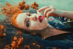 Beautiful Fine Art Portraits by Ginebra Siddal #inspiration #photography