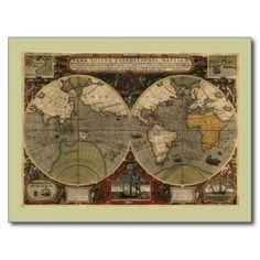 >>>Low Price          1595 Vintage World Map by Jodocus Hondius Post Cards           1595 Vintage World Map by Jodocus Hondius Post Cards in each seller & make purchase online for cheap. Choose the best price and best promotion as you thing Secure Checkout you can trust Buy bestDeals         ...Cleck Hot Deals >>> http://www.zazzle.com/1595_vintage_world_map_by_jodocus_hondius_postcard-239638060783197839?rf=238627982471231924&zbar=1&tc=terrest