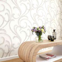 Tapety Erismann Filino, moderní tapety s přírodními vzory, vlny béžová