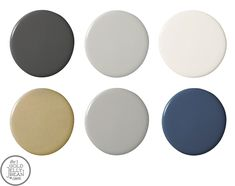 paint-colors for the home...love the hues