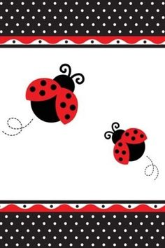 Wallpaper Ladybug, Lady Bug, Cellphone Wallpaper, Iphone Wallpaper, Cute Wallpapers, Wallpaper Backgrounds, Scrapbook Paper, Scrapbooking, Phone Themes
