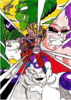 (DBZ) Representação de todas as fases da saga  2007