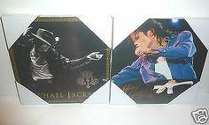 MICHAEL JACKSONCOLLECTORS SPECIAL CELEBRITY ART (LARGE 2pc SET)BDAY/FAN GIFT- - http://www.michael-jackson-memorabilia.com/?p=6683