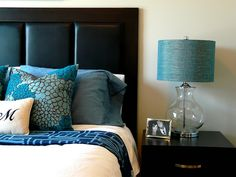 Teal Bedroom by i dream of chairs