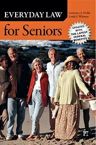 The Caregiver's Bookshelf: A Law Guide for Seniors http://newoldage.blogs.nytimes.com/2012/04/02/the-caregivers-bookshelf-a-law-guide-for-seniors/