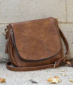 Urban Expressions Crossbody Purse - Women s Accessories in Brown   Buckle d387e53aa7